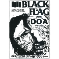 Black Flag and DOA Poster