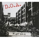 DOA - Fight Back LP RED