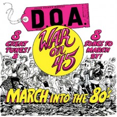 DOA - War on 45 LP