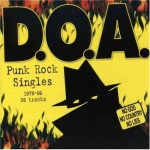 DOA - 1978 - 99 Punk Rock singles CD